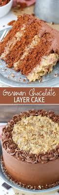 Decorated German Chocolate Cake German Chocolate Cake Life Love And Sugar