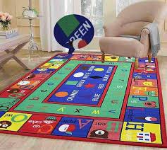 kids star rug round kids rug playroom carpet childrens floor rugs