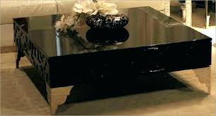 contemporary modern square coffee table large