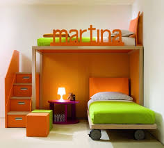 shared bedroom design ideas. Some Boy And Girl Shared Bedroom Ideas : Modern Design With Orange Green