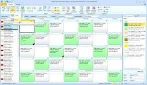 Calendar View In Snap Schedule Employee Scheduling Software Work