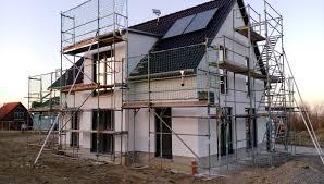 Vom Traum Zum Haus Unser Bautagebuch Streichen Der Fassade