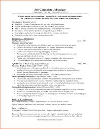 customer service resume  resume sample format