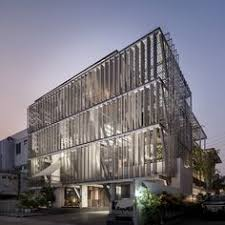 office facades. Gallery Of DP Group Headquarters / SO - 47 Office Facades W