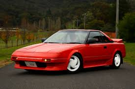 80sHERO: Little Red the 1987 AW11 Toyota MR2 does June 2016..