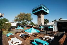 White Oak Kitchen Houston Tour The Retro Quirky Lounge At Houstons Raven Tower