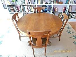 antique oak pedestal table antique round