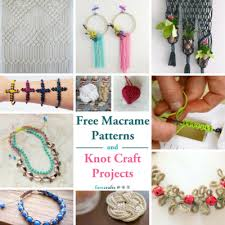 Free Macrame Patterns Adorable 48 Free Macrame Patterns And Knot Craft Projects FaveCrafts
