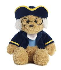 Buy Aurora World Ben Franklin Colonial Bear Plush Online at Low Prices in  India - Amazon.in