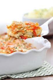 baked white fish and vegetables olga