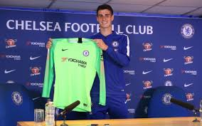 chelsea goalkeeper kepa arrizabalaga after 71 6m transfer it s brave of the club to sign me
