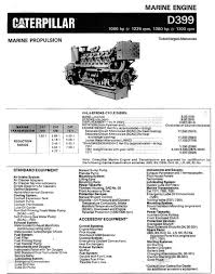 find the best diesel engine transmission and generator brochures now cat d399 marine engine brochure specification 1 jpg