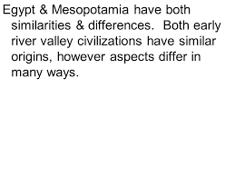 thesis practice samples ppt video online mesopotamia have both similarities differences