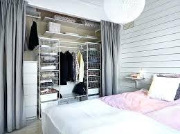 curtain closet better than sliding do doors for dorm ideas curtains door curtain closet
