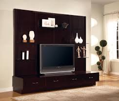 contemporary media console furniture. Contemporary TV Console With Clean Lines And Storage In A Cappuccino Finish.jpeg Media Furniture