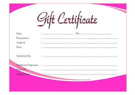 certificate template pages fillable gift certificate templates best 10 templates