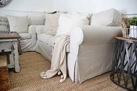 ikea slipcover sofa review honest