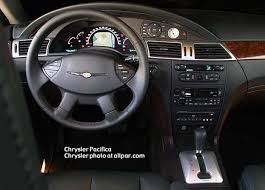 car reviews 2004 2006 chrysler pacifica instrument panel of the pacifica