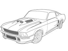 Small Picture Muscle Car Coloring Pages Only Coloring PagesOnly Coloring Pages