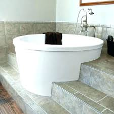 diy soaking tub soaking tubs round idea tub sizes small bathtub deep with brushed chrome outdoor