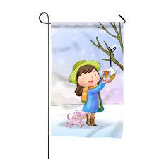 Designer Garden Flags Amazon Com Holiday Christmas Home Flag Designer Garden
