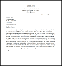 Retail Cover Letter Sample Professional Assistant Store Manager Cover Letter Sample