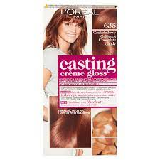 gloss hair dye 635 chocolate candy
