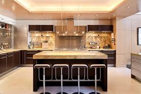Luxury Kitchen Luxury Kitchens With Black Cabinet Others Extraordinary Home Design