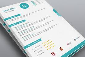 Creative Resume Template Word - Flat 50% Off! Use Coupon Resume50
