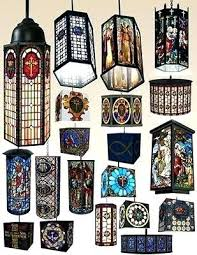 stained glass hanging light stained glass hanging lights brilliant lamps with regard to for design blue stained glass hanging light