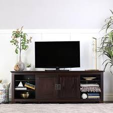 we furniture 70 inches wood tv console with sliding doors espresso amazoncom altra furniture ryder apothecary tv