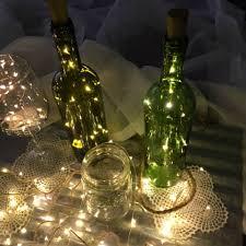 Decorative Wine Bottles With Lights LightUp Wine Stopper Party Decor Wine cork lights 32