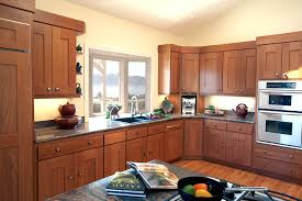 Maple Kitchen Cabinets Contemporary Roselawnlutheran Shaker Style
