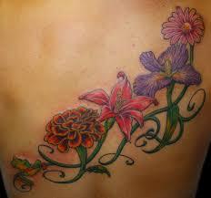 Tetování Kytky Fotogalerie Motivy Tetování