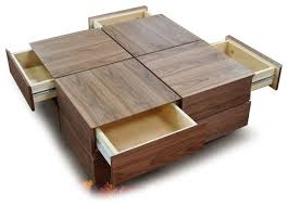 ... Coffee Table, Modern Furniture Coffee Tables Contemporary Coffee Tables  With Drawers: Contemporary Coffee Table ...