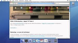 Mac OS X Tiger sur Apple TV - YouTube