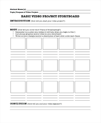 Video Project Template Madebyforay Co