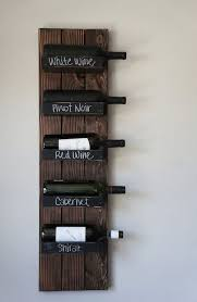 mountable wine rack kick ady for wall hanging ideas 13