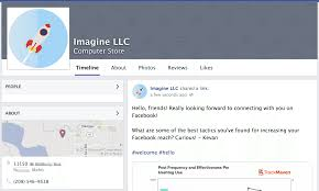 facebook page business exle