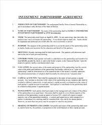 Investment Agreement Templates Investment Agreement Rome Fontanacountryinn Com