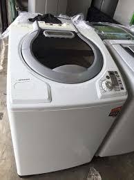 sharp washing machine 11kg. 11kg sharp mesin basuh washing machine automatic refurbish recondition