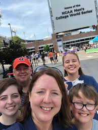 """Mara Jacobson on Twitter: """"Happy Father's Day Paul Jacobson! And War Eagle!  #cws… """""""