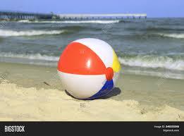 Beach ball in ocean Waves Beach Ball In Ocean Sand Colorful Beach Ball On Sand And Waving Sea Holiday Near Baltic Walmart Beach Ball In Ocean Nathinah