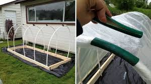 learn how to make a raised garden bed cover