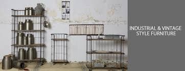 Industrial & Vintage Style Furniture UK Accessories for the Home