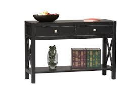 black contemporary sofa tables. Anna Antique Black Finish Contemporary Console Table Sofa Tables