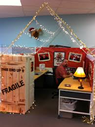 entire office decked. During Our Holiday Cube Decorating Contest, The Winner Decked His Out In Full \ Entire Office