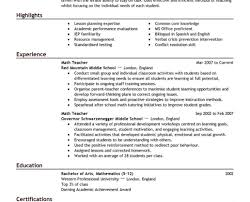 Resume Wonderful The Best Free Resume Templates Keep It Simple