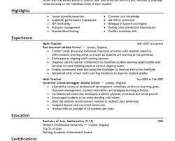 Resume Best Resume Templates Free Best Free Resume Templates