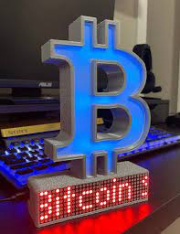 Discover new cryptocurrencies to add to your portfolio. Bitcoin Crypto Coin Price Ticker Matrix Display Wi Fi Etsy